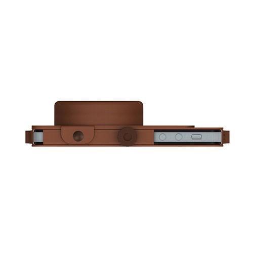 ILUV Camera case premium leather [ICA7J344TAN] - Brown - Casing Handphone / Case